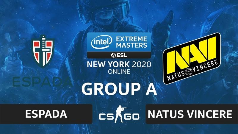 CSGO - Natus Vincere vs Espada [Nuke] Map 2 - IEM New York 2020 - Group A - CIS