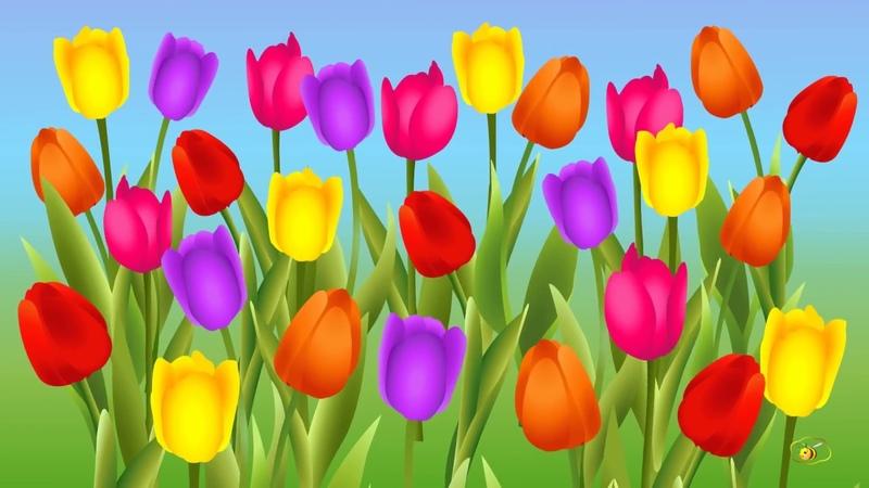 Песенки для детей. Мультик про весну для малышей и взрослых для поднятия настроения )