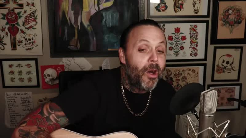 Justin Furstenfeld Wish You Were Here Pink Floyd cover