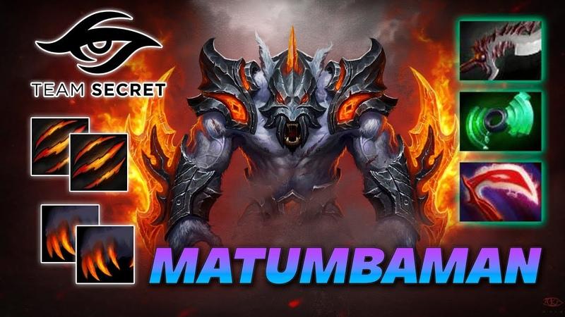 MATUMBAMAN URSA CRAZY BEAR Dota 2 Pro Gameplay