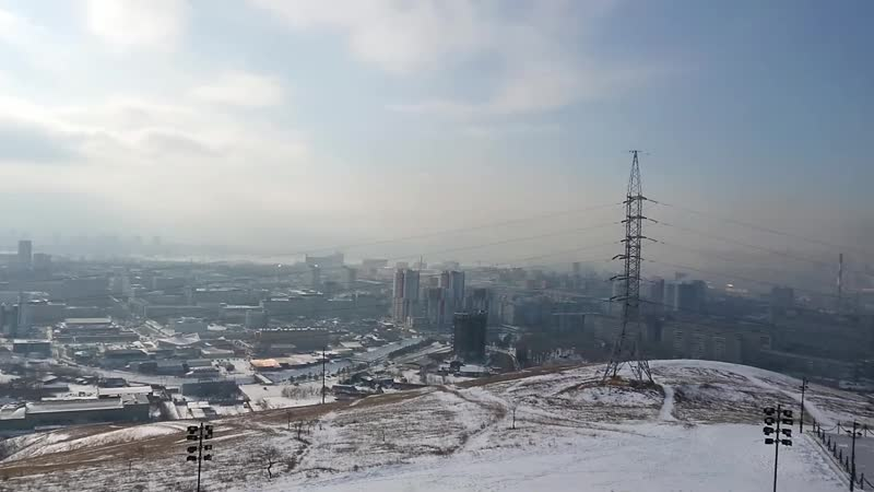 Денис Штык Красноярск задыхается Экологическая катастрофа