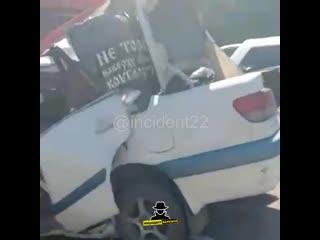 Жесткое ДТП на трассе Барнаул - Бийск (Инцидент Барнаул)
