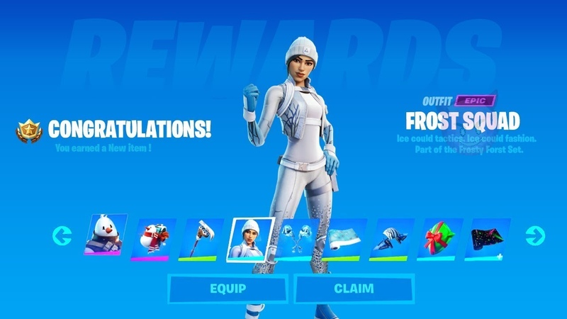 How to Get Frost Squad FREE Skin Fortnite Complete 12 Operation Snowdown Challenges and Quests
