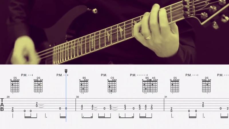 Five Finger Death Punch Far From Home Разбор песни на гитаре Табы и аккорды
