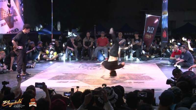 Harrien(TW) vs Pocket(KOR) Semi-Finals The Last Samurai Hustle Freeze Vol.10