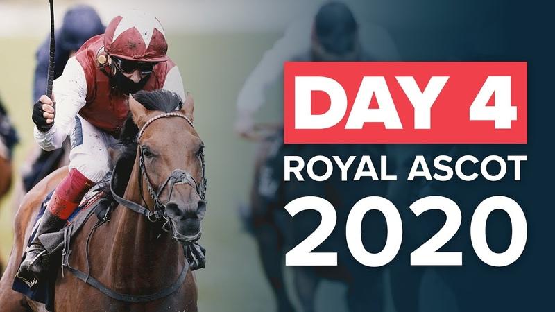 Royal Ascot 2020 - Day 4 Highlights FRANKIE DETTORI, HOLLIE DOYLE OISIN MURPHY