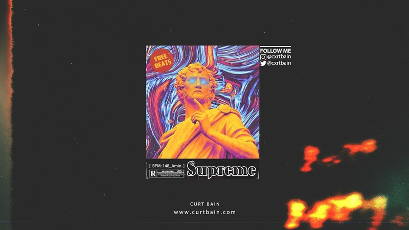 S U P R E M E FREE Rap Beat Dark Melodic Type Beat Trap Beat Hip Hop Beat 2020