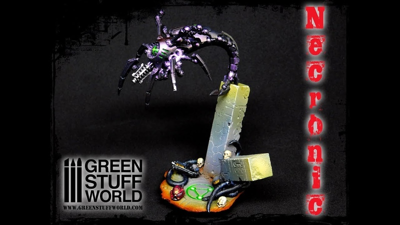Creative how to build a stage base with our new Necronic rolling pin