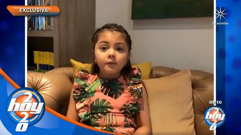 Rafaella Castro está preocupada por su abuela Verónica tras el sismo que afectó a México Hoy