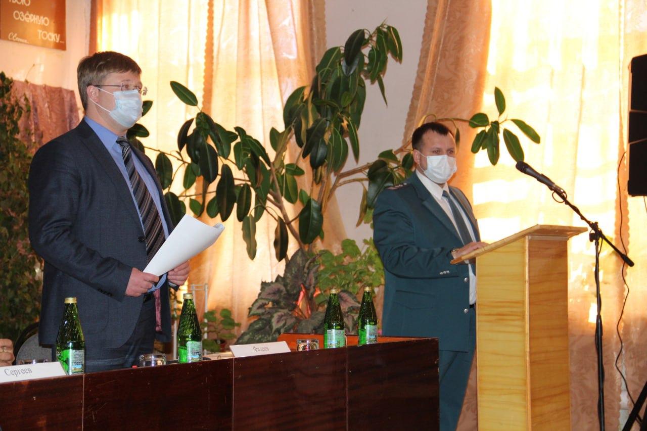 Состоялась выездная встреча с жителями Берёзовского образования