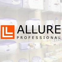 Логотип Аллюр Профешнл - все для маникюра, депиляции ...