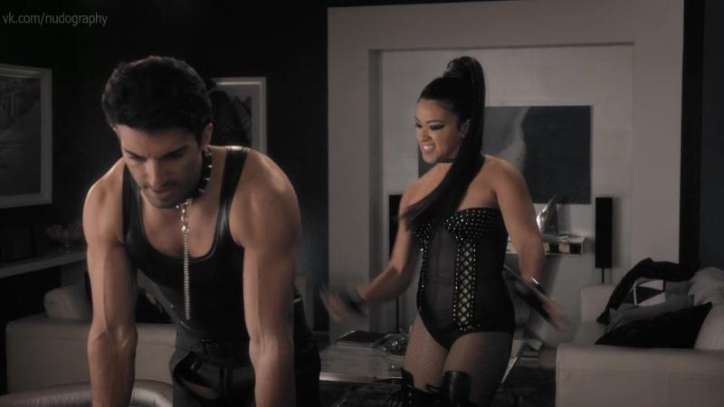 Джина Родригес Gina Rodriguez в сериале Девственница Джейн Jane the Virgin 2018 s04e09 Голая Секси HD 1080p