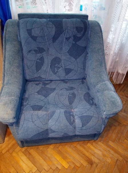 Отдам даром раскладное кресло. К сожалению, чтобы ...
