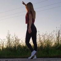 Фотография страницы Ангелины Языковой ВКонтакте