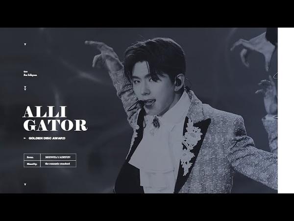 [YT][Fancam][05.01.2020] The 34th Golden Disc Awards - Alligator (KIHYUN FOCUS)