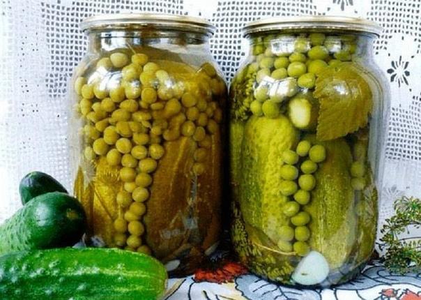 Овощное ассорти для «Оливье»