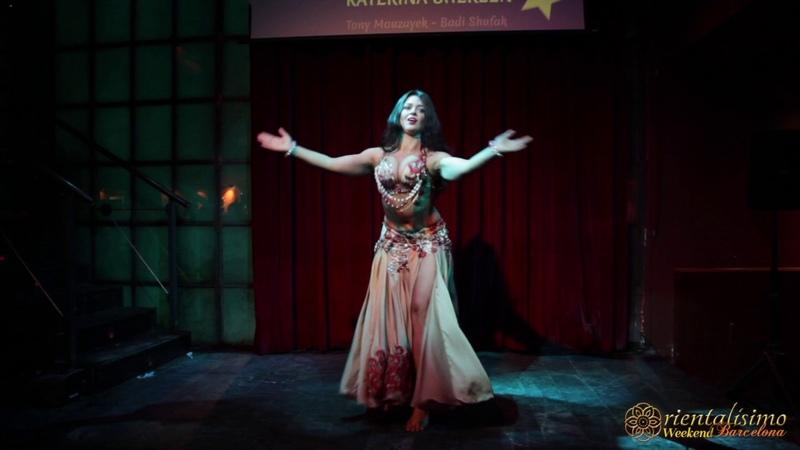 Katerina Shereen in Barcelona Badi Shufak Tony Mouzayek