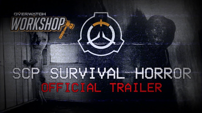 Overwatch SCP SURVIVAL HORROR GAMEMODE Workshop Trailer