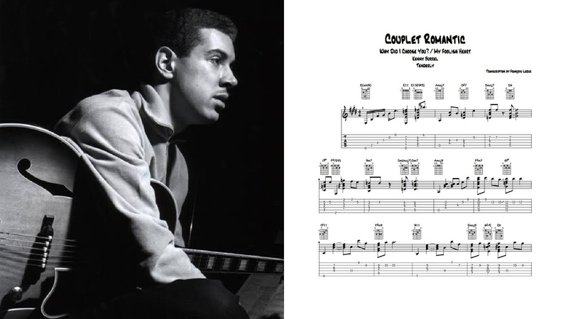 Why Did I Choose You My Foolish Heart Kenny Burrell Transcription
