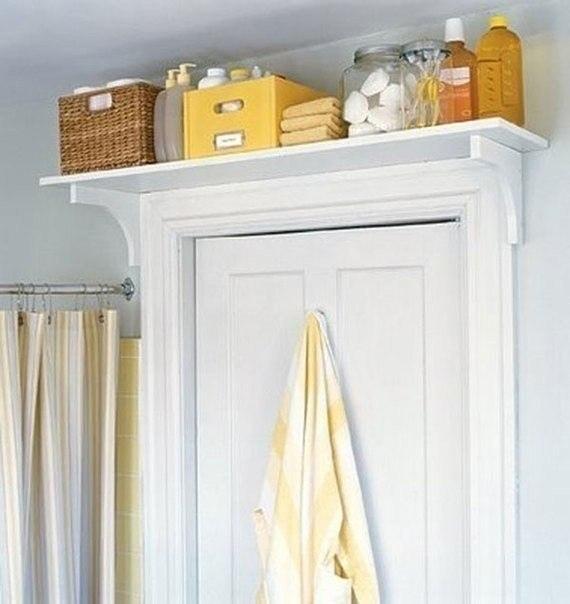Хозяйкам на заметку - несколько идей хранения различных принадлежностей в ванной комнате