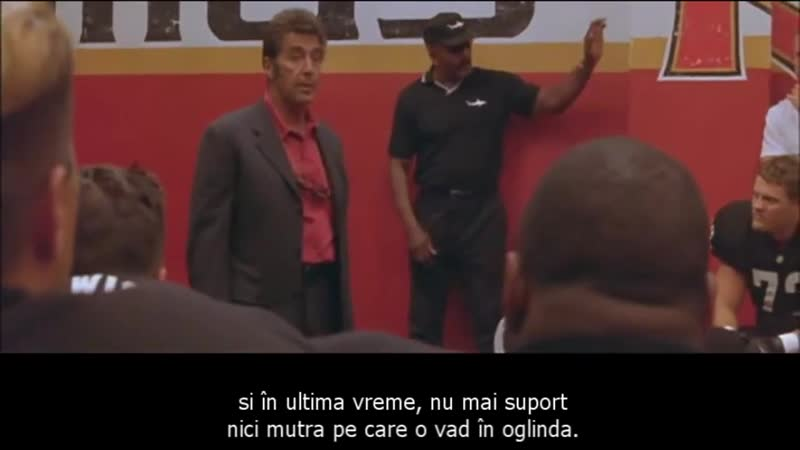 Al Pacino speech motivatia echipei