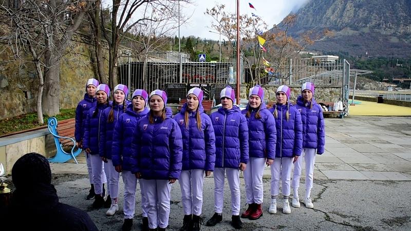 Юнги Кипарисного на песенном этапе 17 смены 2020 г.