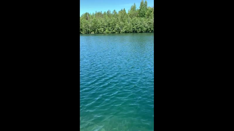 Озеро Светлое Горный парк Рускеала