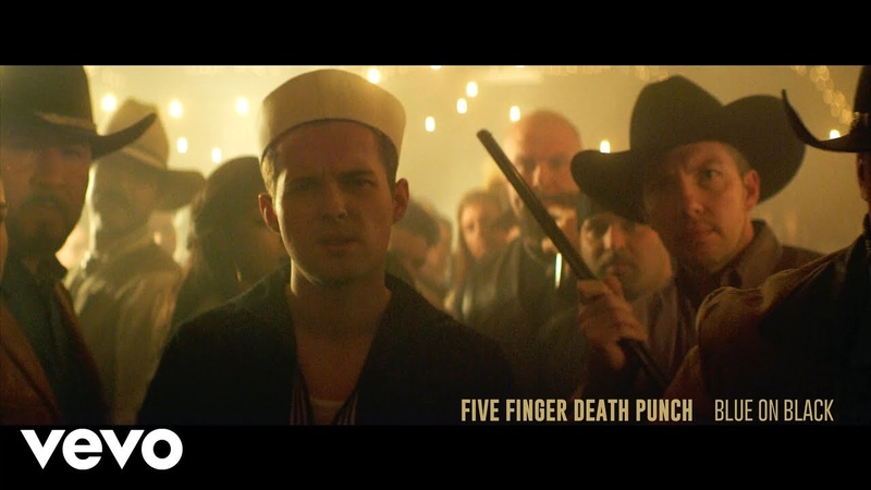 Five Finger Death Punch Blue on Black Official Video
