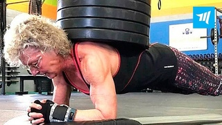 Strongest 70-year-old Grandma - Mary Duffy | Muscle Madness