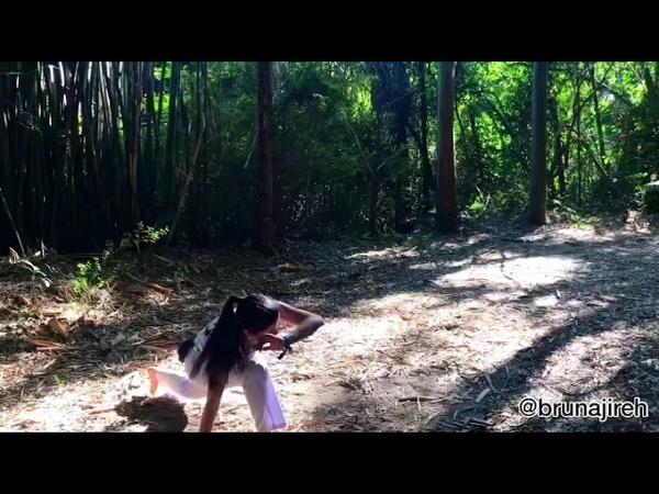 Movimenta ões de Capoeira Instrutora Bruna