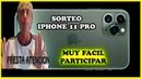 SORTEO INTERNACIONAL - Iphone 11 PRO - GRATIS Y MUY FÁCIL