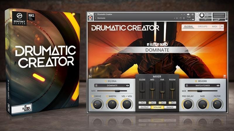 Drumatic Creator Kontakt Sample Library Demo