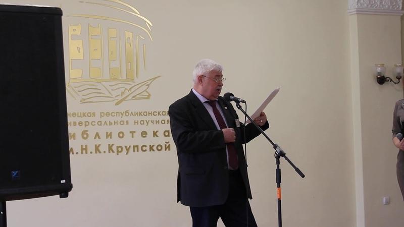 А Терлецкий читает стихотворение М Исаковского