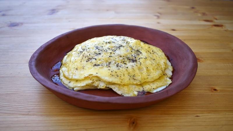 Ancient Roman Dessert Ova Spongia ex Lacte Sweet Omelette