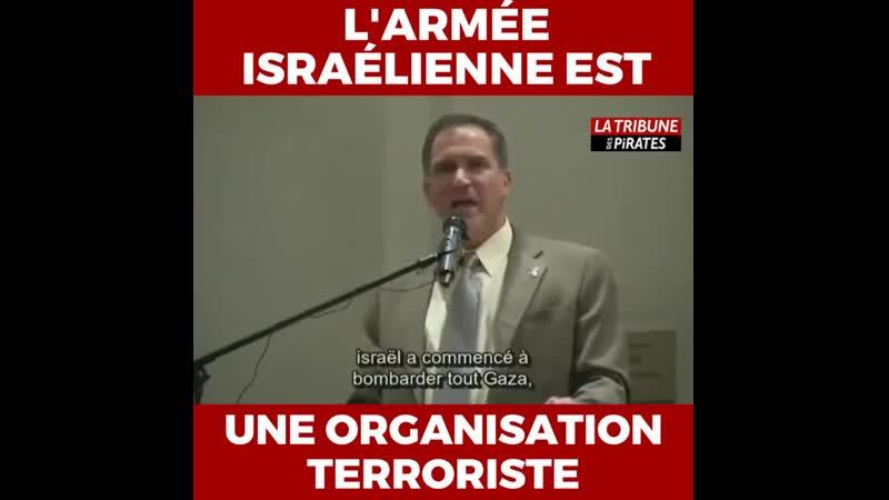 Miko Peled larmée israélienne est une organisation terroriste