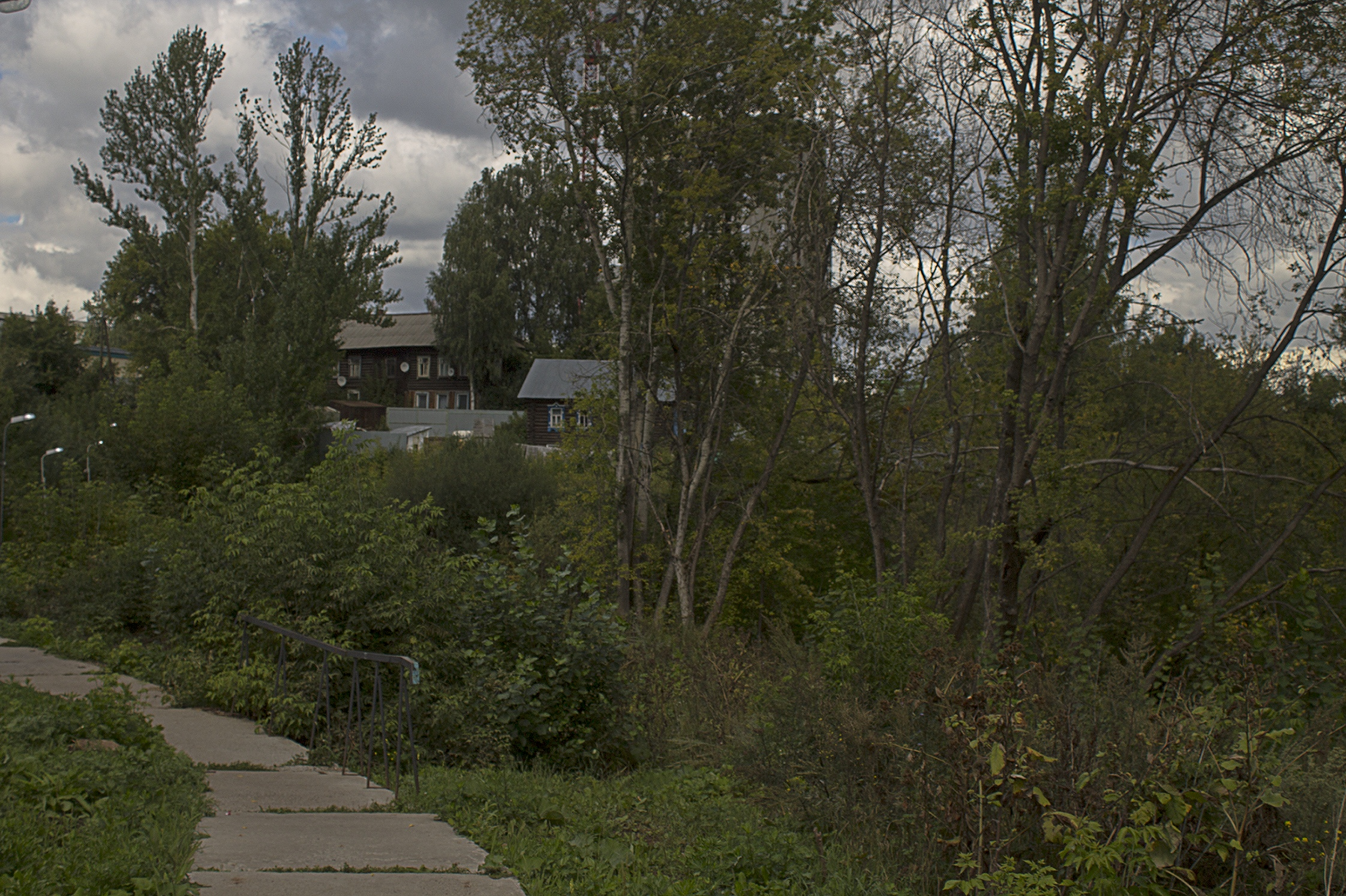 Вдоль речки Карлутки, Ижевск - Фото
