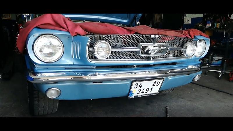 1965 FORD MUSTANG FASTBACK TEASER FIRST VIDEO İLK VİDEO BAŞLANGIÇ VİDEOSU MUSCLE CARS