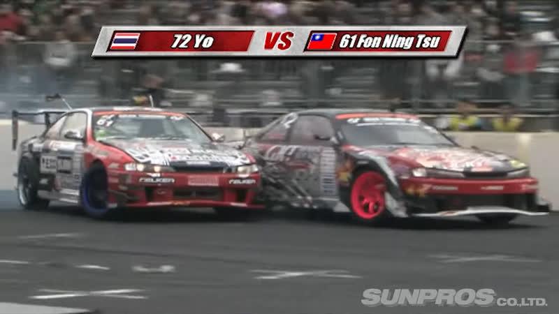 SL DVD 37 Tokyo Drift FMX Overseas Drifters Demo Run at Odaiba