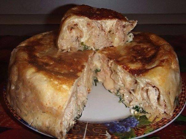 ОТЛИЧНЫЕ ВАРИАНТЫ ПИРОГОВ К УЖИНУ Обожаю различные идеи к ужину 1) Пирог с мясомИНГРЕДИЕНТЫ:Для теста:2 яйца1/2 ч. л. соли1 стакан муки1 стакан кефира1 ч. л. соды.Для начинки:300 г фарша2-3