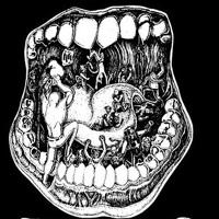 """Логотип Панк Гараж """"ГЛОТКА"""""""