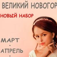 Логотип ШКОЛА ФОТОМОДЕЛЕЙ DIAMOND MODELSВ. НОВГОРОД