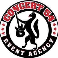 """Логотип """"CONCERT 54"""" концертное агентство"""
