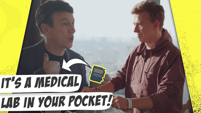 Futuristic gadgets for tracking your health. Daniel Kraft Mustreader podcast