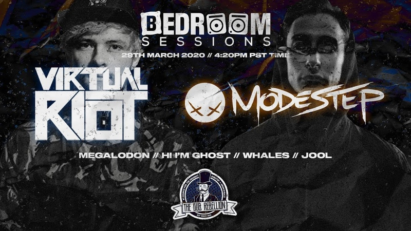 BEDROOM SESSIONS PRESENTS VIRTUAL RIOT MODESTEP MEGALODON HI IM GHOST MORE