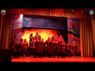 Звездопад 2019-2020, часть 11.4 Инсценировка песни о ВОВ, , Мамадыш.