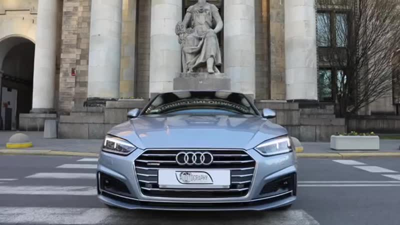 The beautiful lines of the new 2017 18 Audi A5 Sportback 2 0TFSI quattro S line