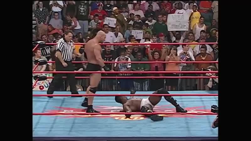 Рестлинг с Фоменко Голдберг vs Букер Ти 24 07 2000