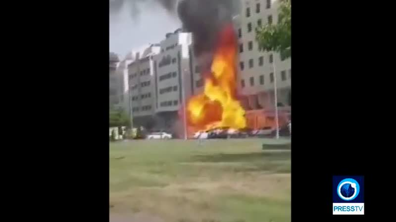 Double explosion aux Émirats simultanément à l'atterrissage du vol israélien