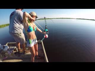 Красота и Рыбалка - 16. Florida Alligator Hunting - My FIRST time