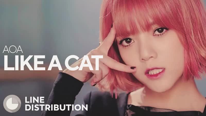 AOA - Like a Cat